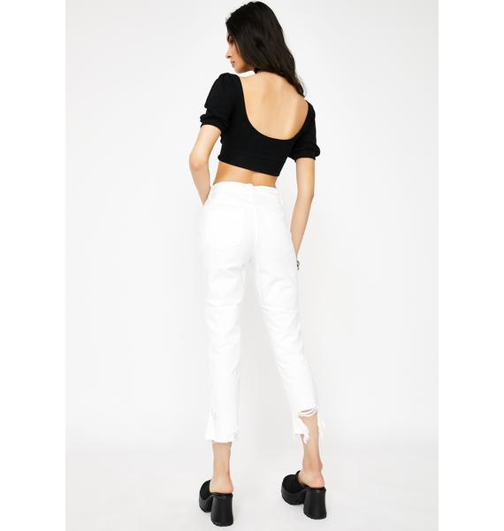 Blank NYC Aspen Distressed Jeans