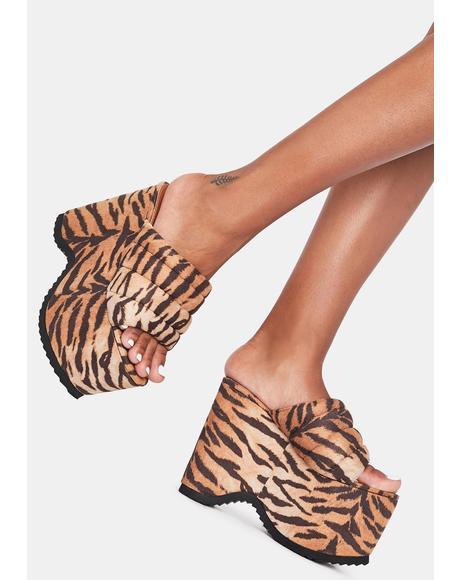 Manolya Platform Sandals
