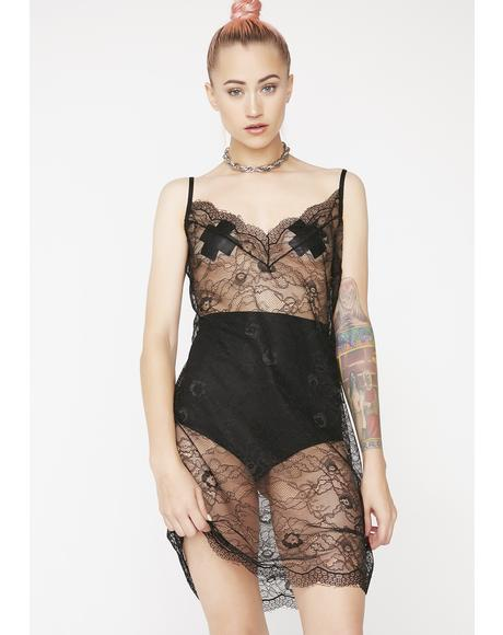 Night Visionz Sheer Dress