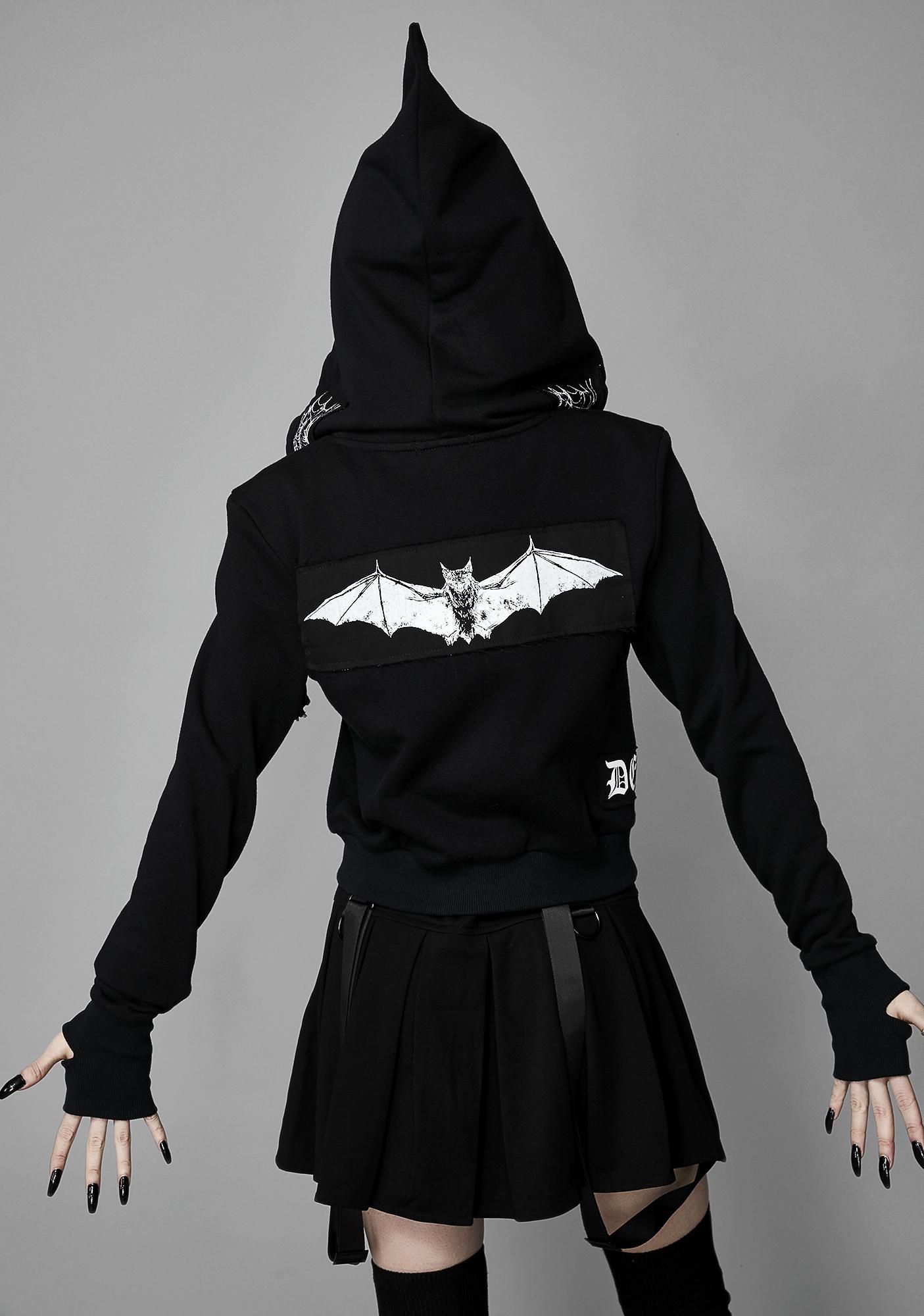 Widow Dead Of Night Hooded Jacket