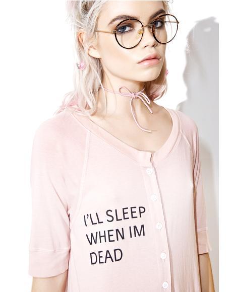 I'll Sleep When I'm Dead Unisuit