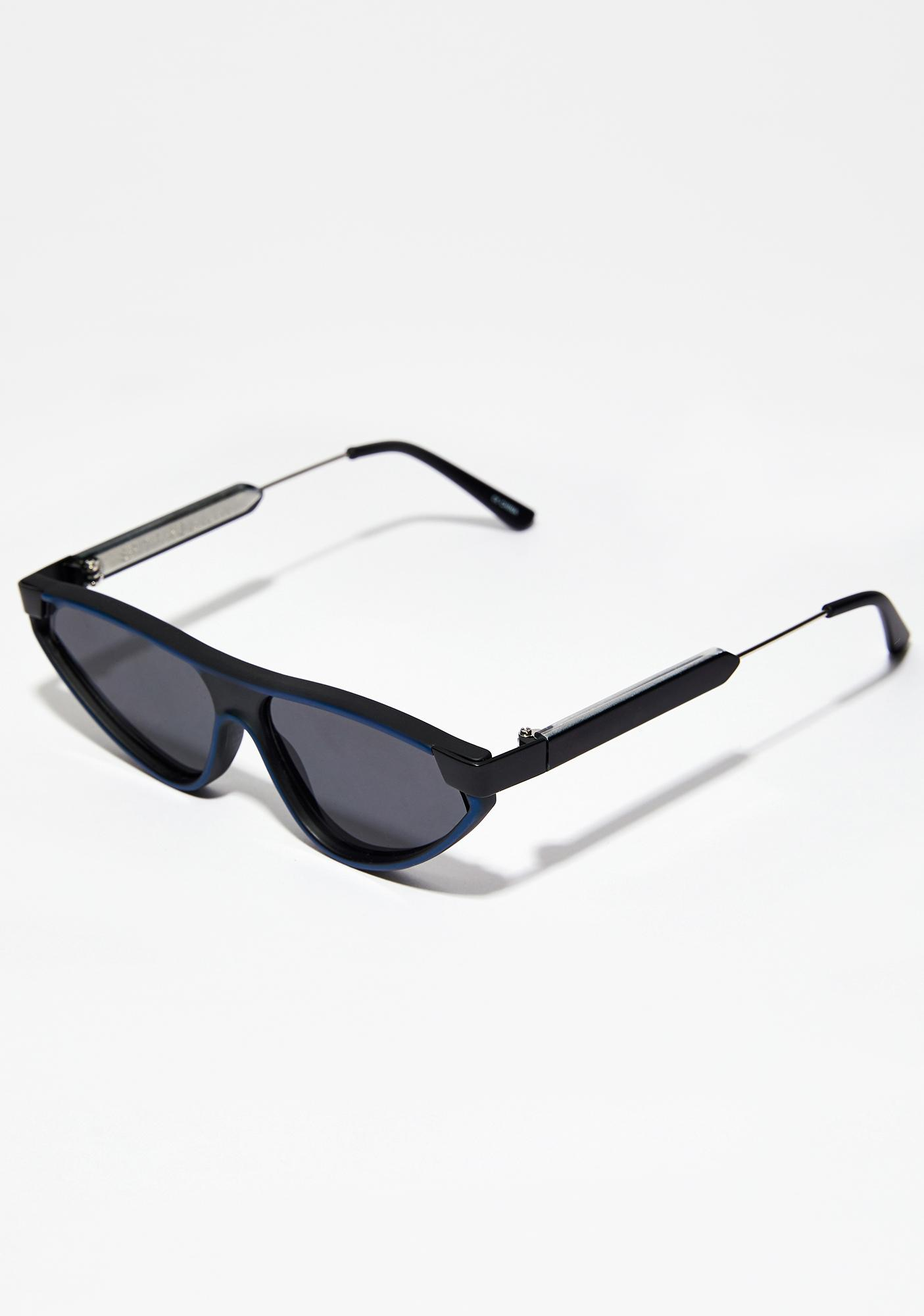 Spitfire Navy Snap Sunglasses