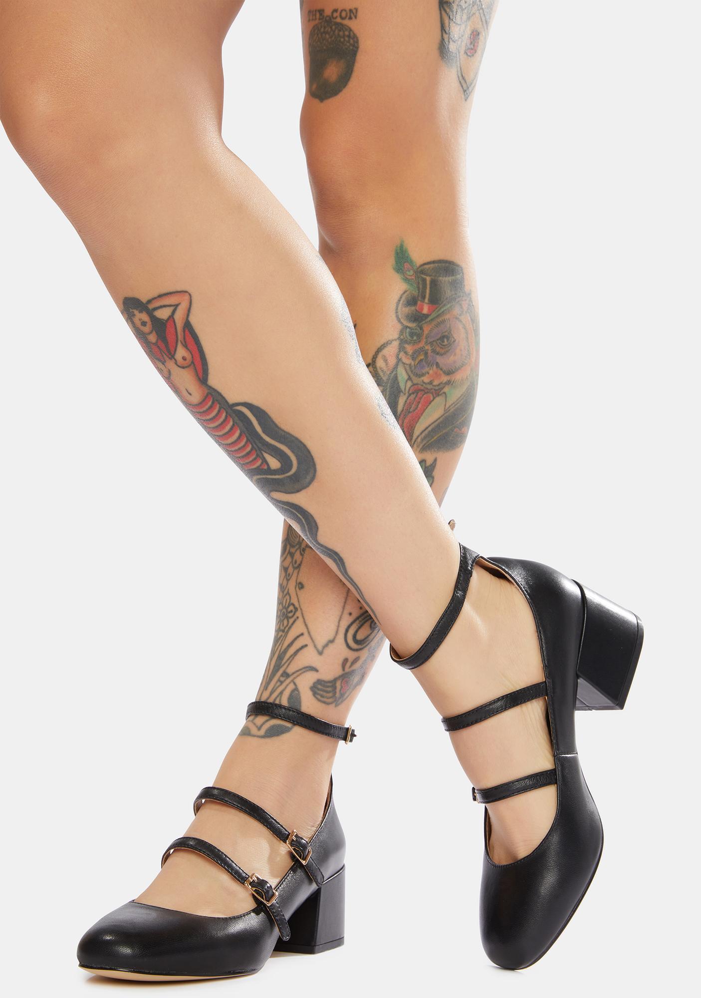 Chinese Laundry Moto Leather Heels