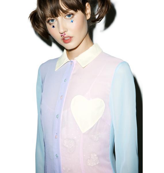 Sugarpills Pastel Maxi Shirt