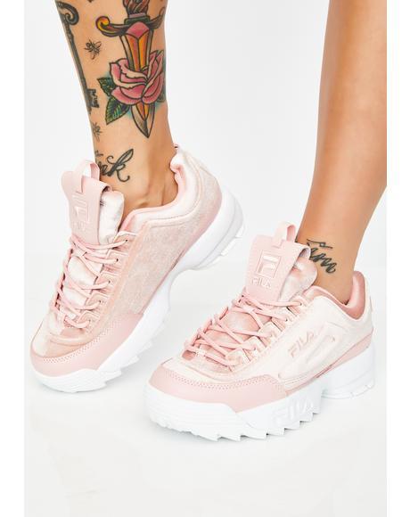 Disruptor II Premium Velour Sneakers