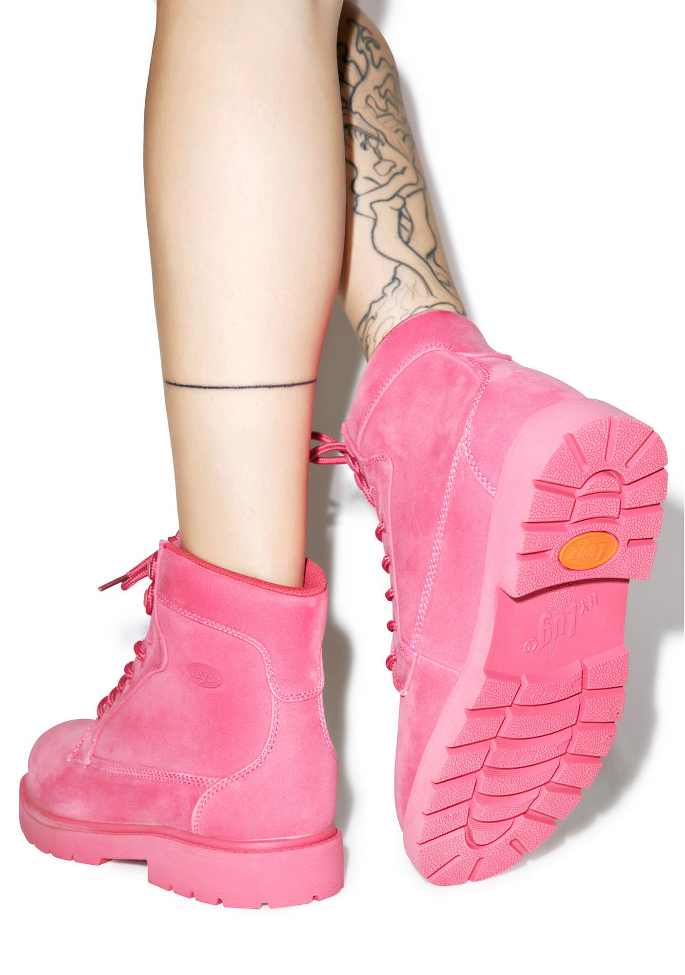 Lugz Raspberry Regiment Boots