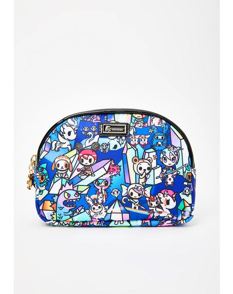 Crystal Kingdom Cosmetic Bag