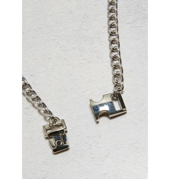 Locked In Buckle Necklace