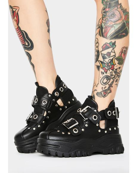 Ride On Time Platform Sneakers