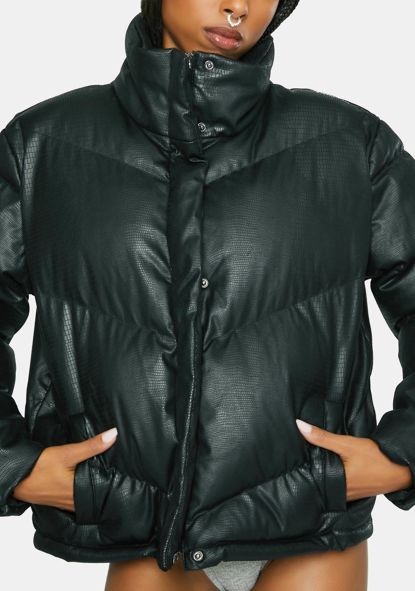 BB Dakota Answer My Layer Puffer Jacket