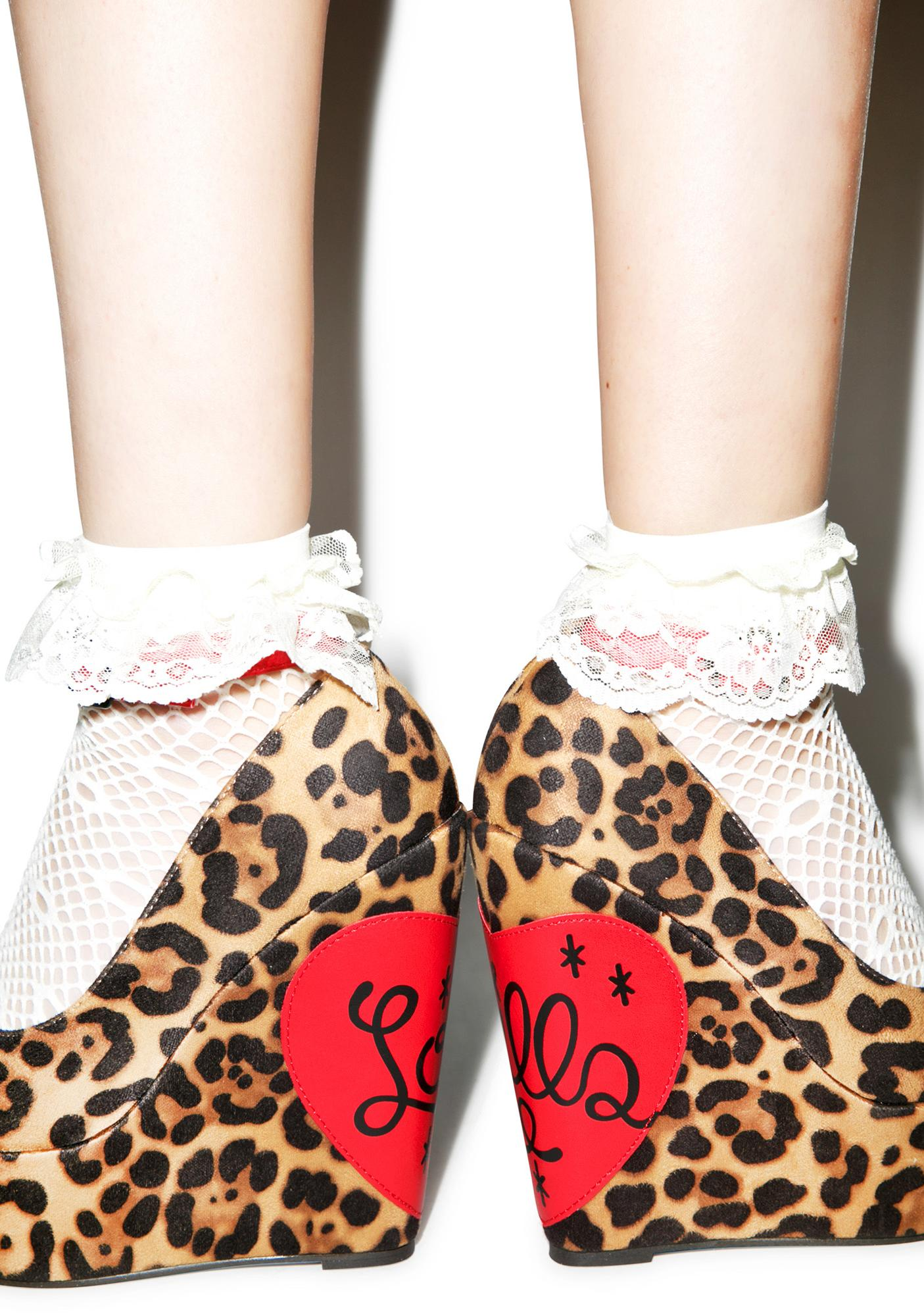 Iron Fist Lovecat Wedge Heels