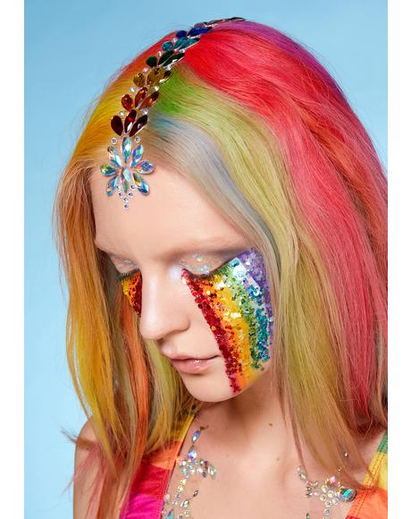 Rainbow Divinity Hair Jewels