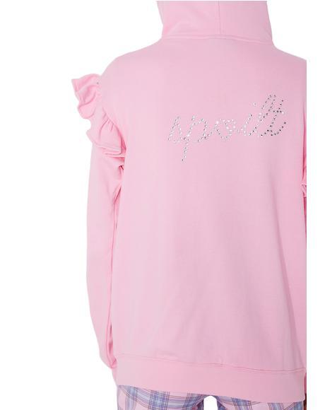 Spoilt Pink Hoodie