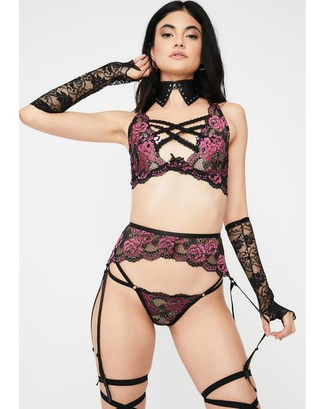 Last Rose Lace Set