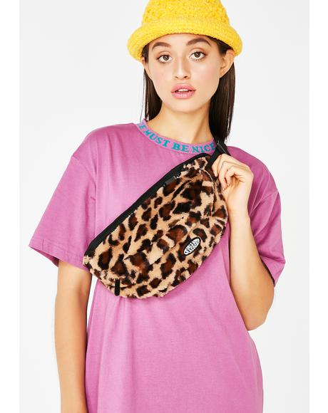 Cheetah Waist Bag