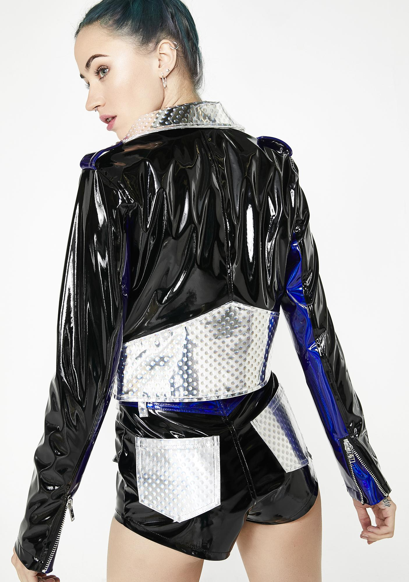 Current Mood Techno Diva Moto Jacket