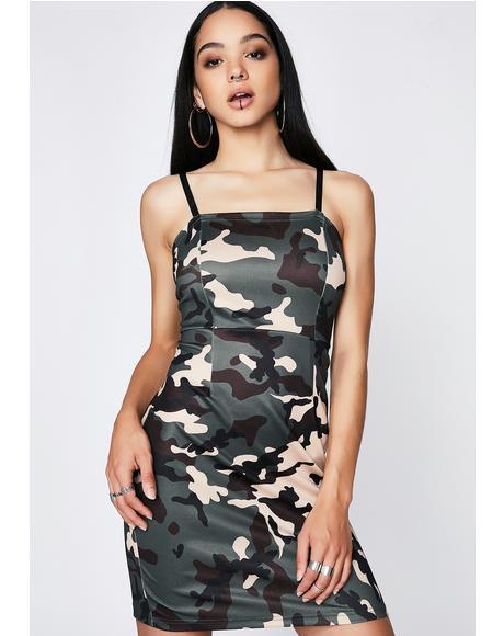 Sassy Squadron Camo Dress