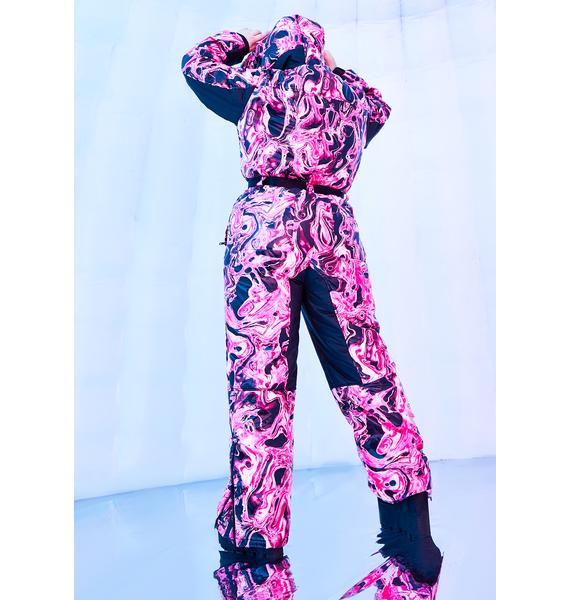 Club Exx Divine Lady Acid Dimension Puffer Snowsuit
