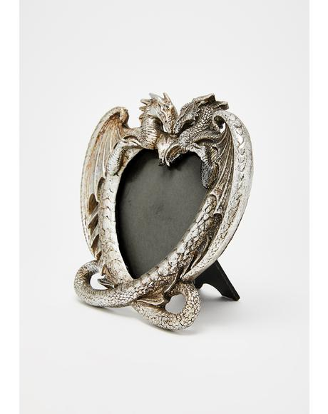 Dragon Heart Picture Frame