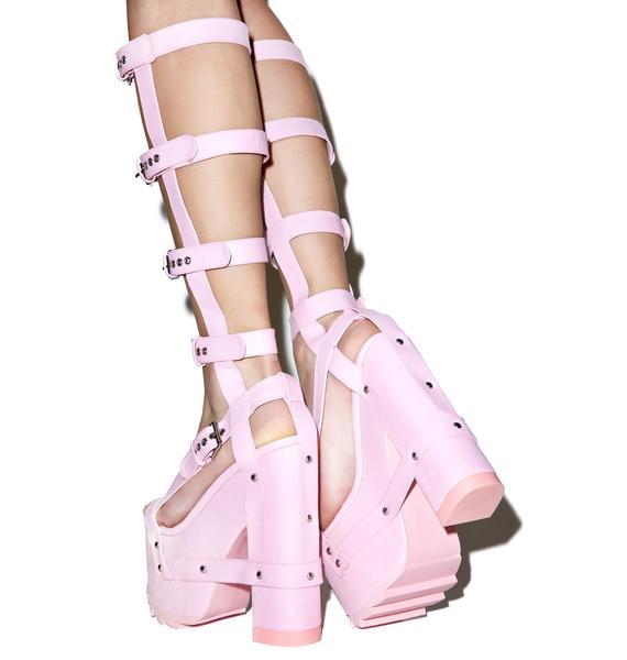 Y.R.U. Baby Nightcall Hi Platform Heels