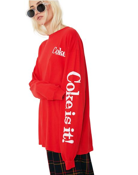 Coke Is It Tee
