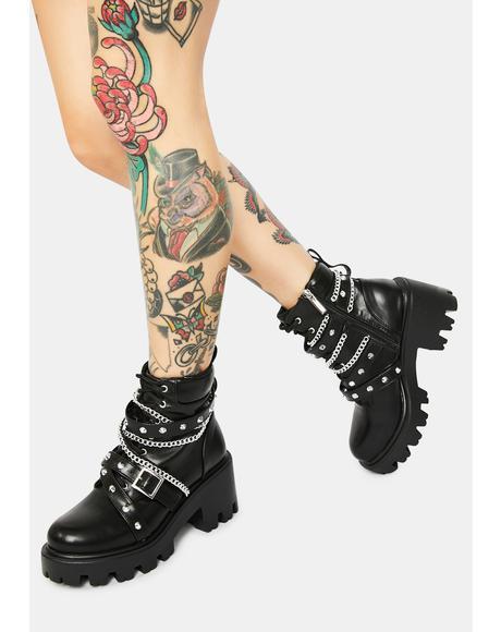 Star Gazing Grunge Boots