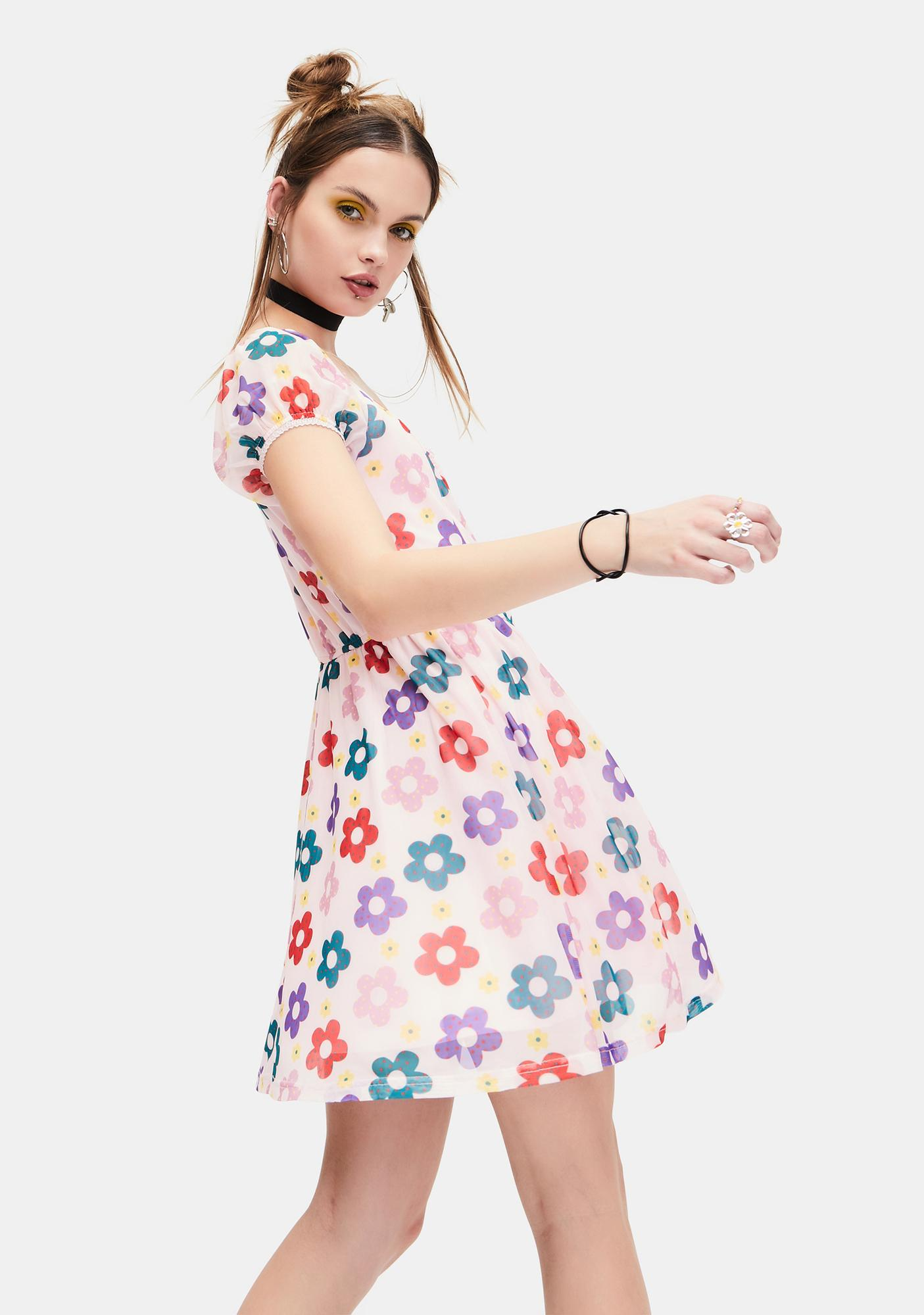 dELiA*s by Dolls Kill Youthful Days Floral Dress