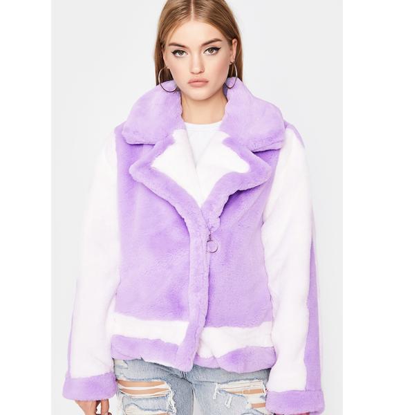 Comfort Zone Faux Fur Coat