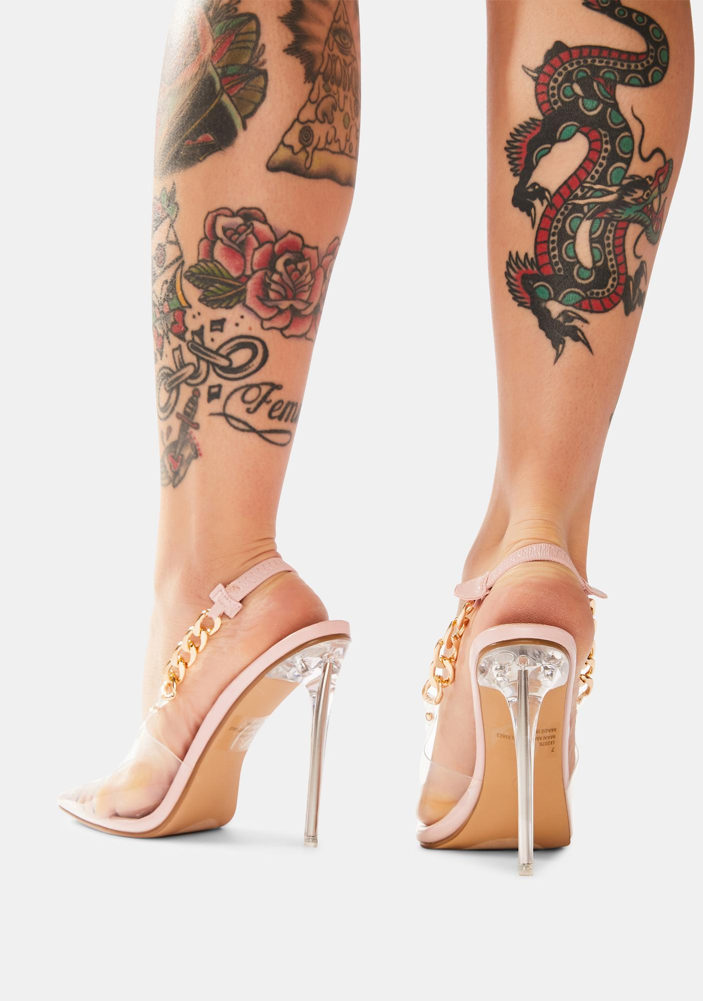 Blush Queen Of Everything Stiletto Heels
