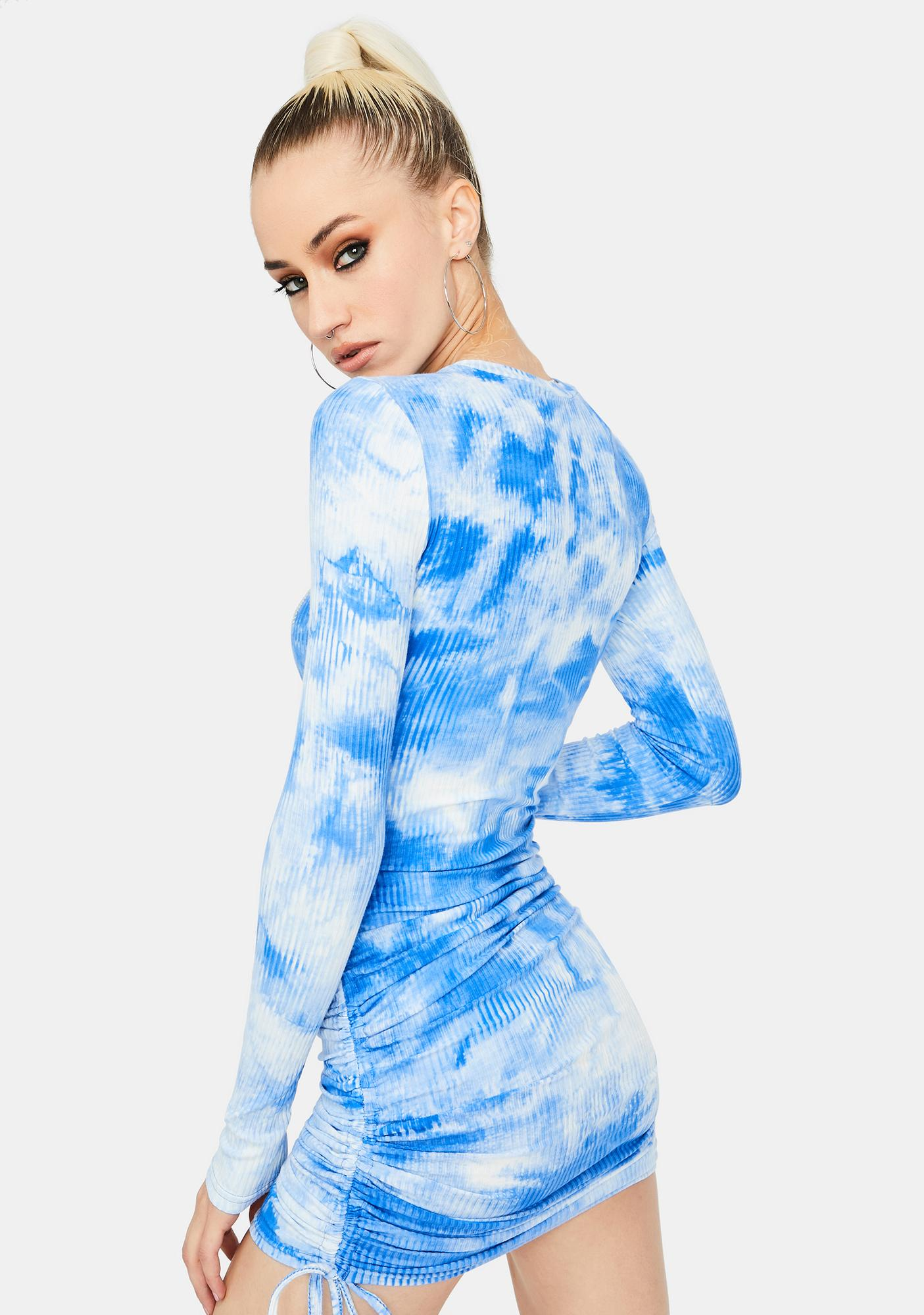 Mind In the Clouds Bodycon Dress