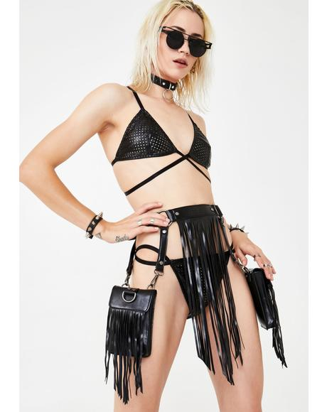 Desert Dancer Fringe Belt Bag