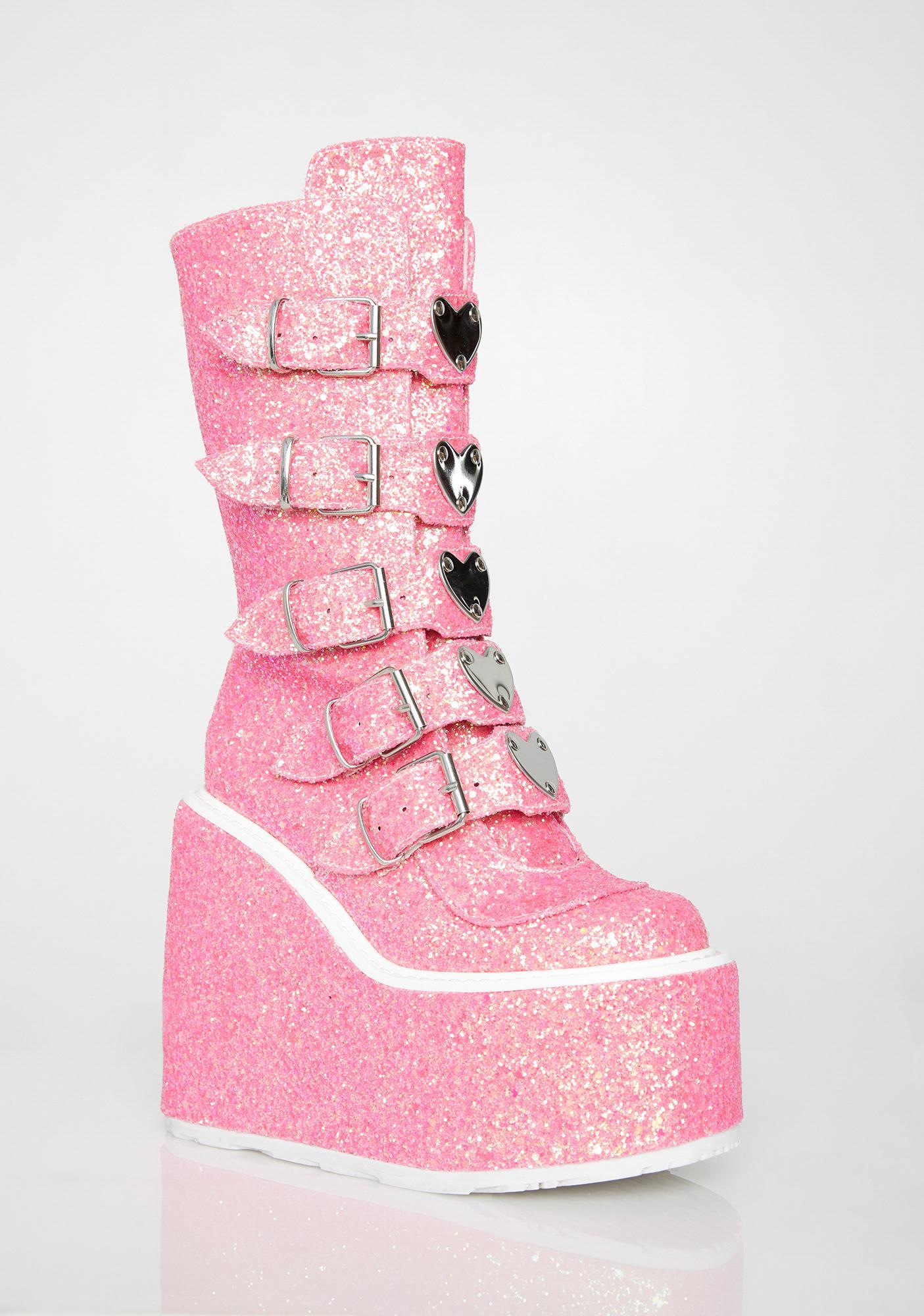 Demonia Candy Lovesick Trinity Boots