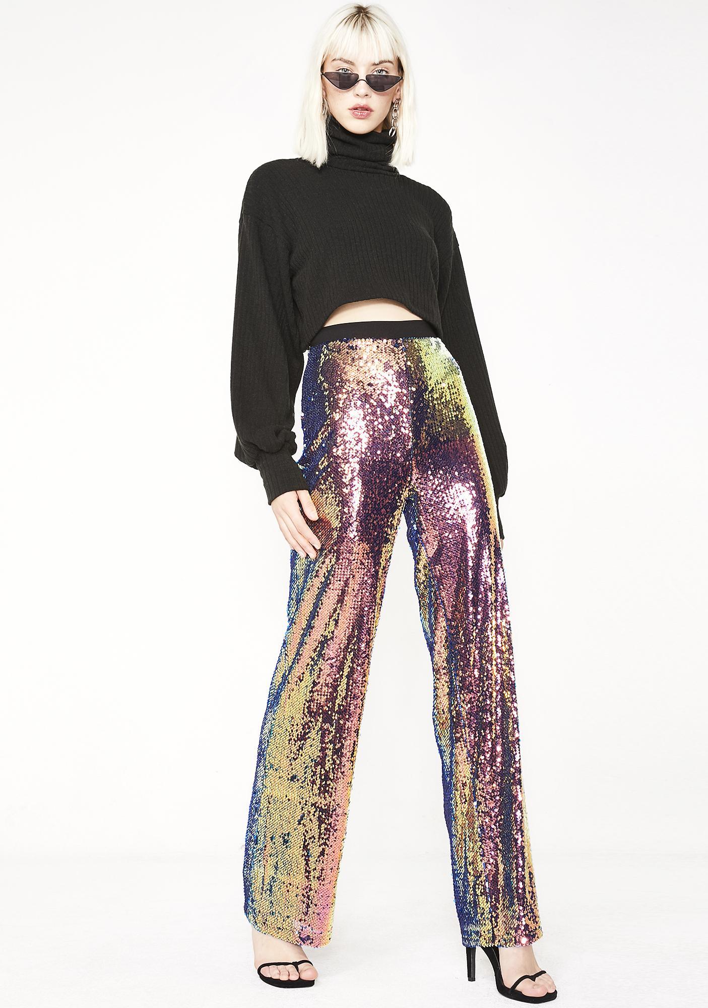 Flashy Fever Sequin Pants