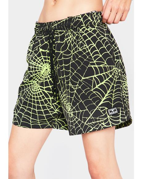 Easy Relaxed Web Shorts