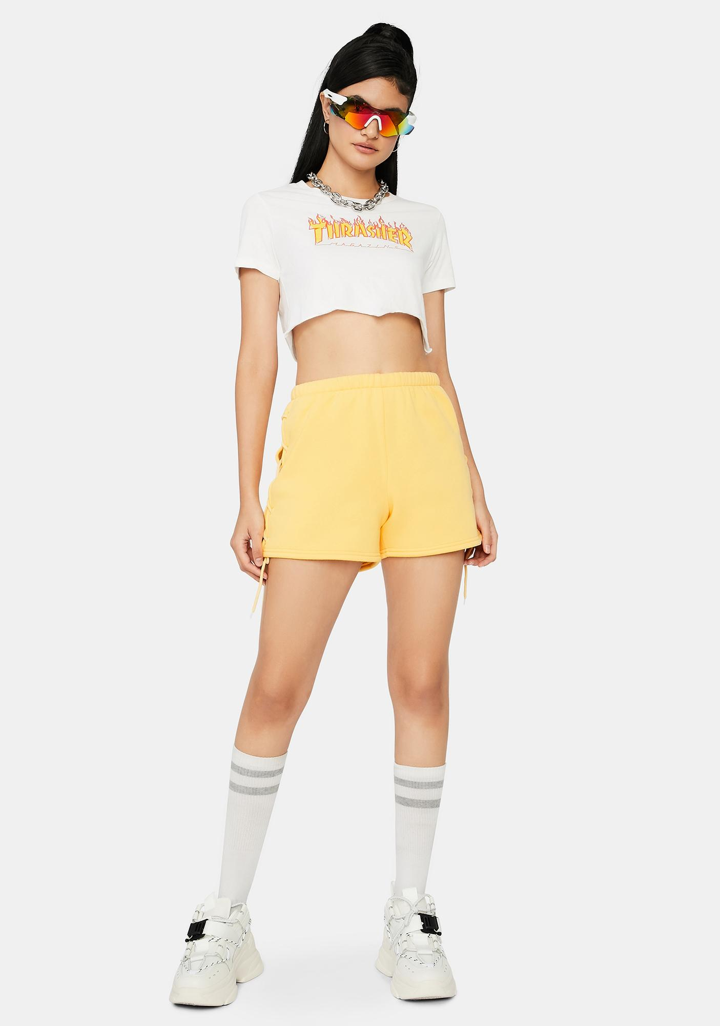 Lemon Lay It On The Line Lounge Shorts
