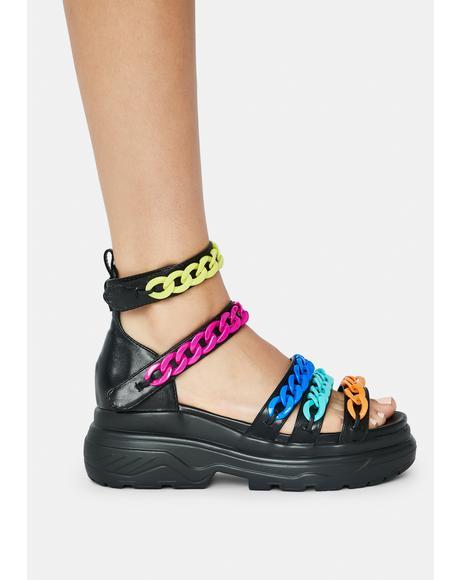 Chana Chain Sandals