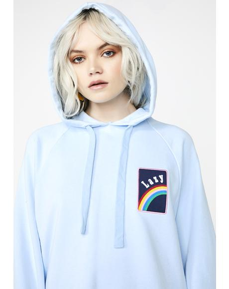 Over The Rainbow Hoodie Dress