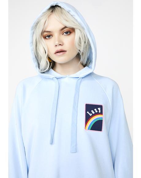 Over The Rainbow Hoodie Dress