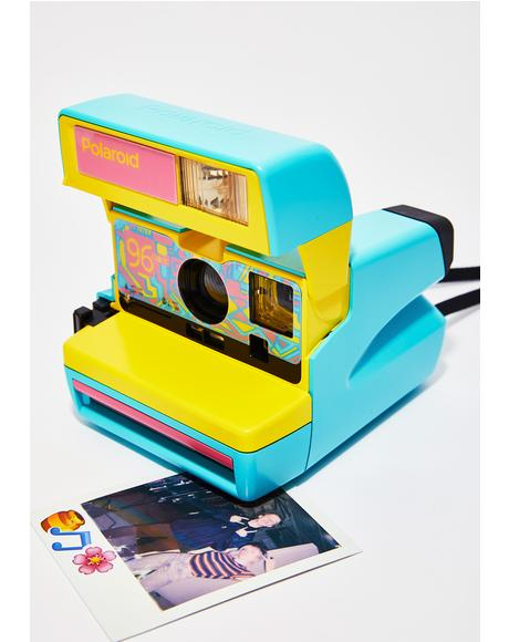 Polaroid 96 Edition Fresh Blue 600 Camera