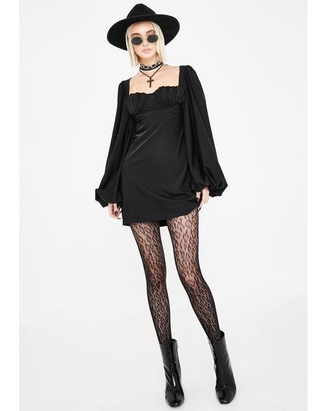 Liv Long Sleeve Mini Dress