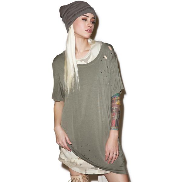 Lose My Breath Tee Dress