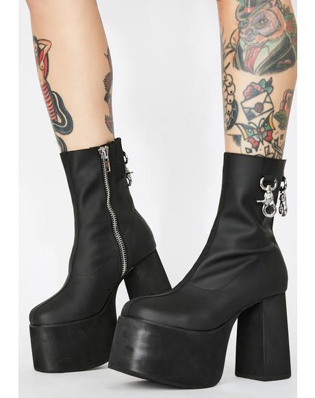 Diva Domination Platform Boots