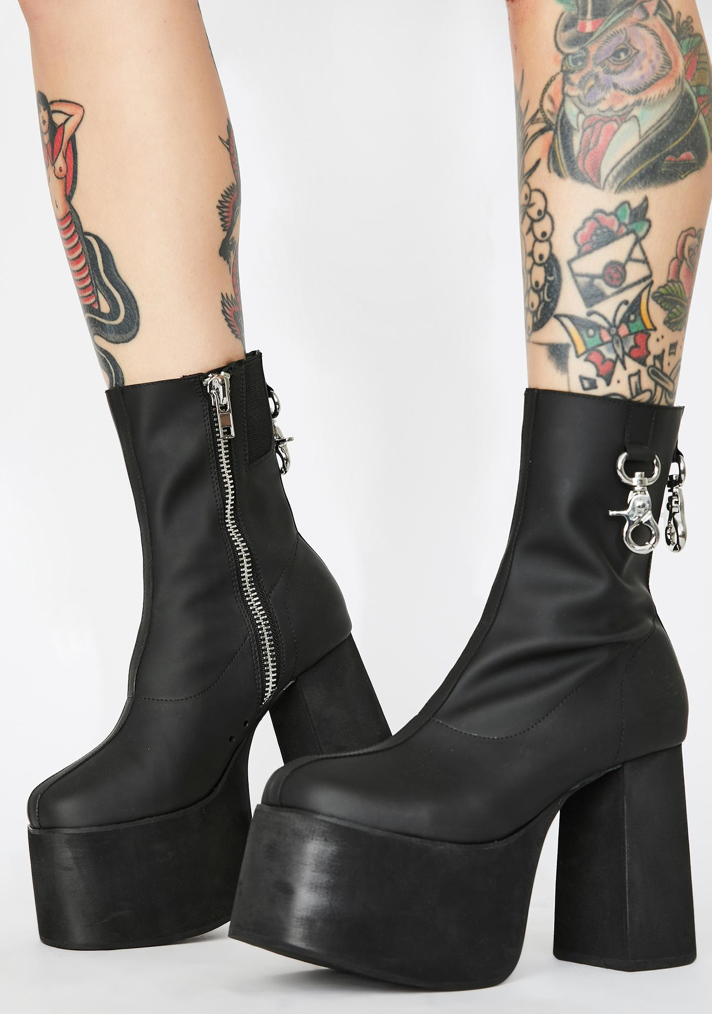 Poster Grl Diva Domination Platform Boots