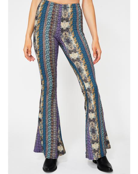 Goddess Glamazon Flare Pants