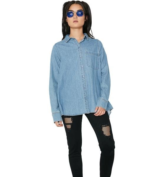 Cheap Monday Denim Airy Shirt