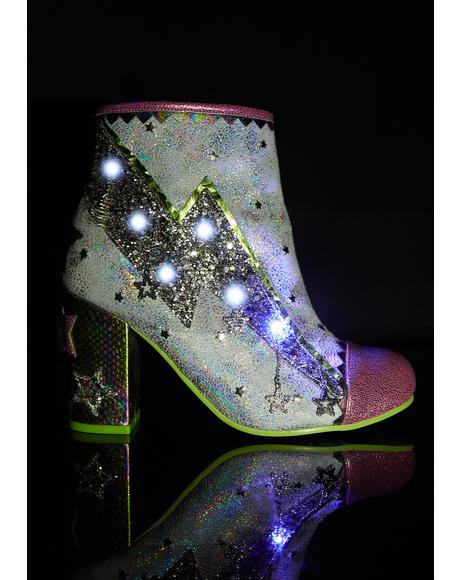 Major Top Light Up Booties
