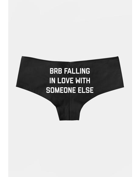 Brb Falling In Love Boyshorts