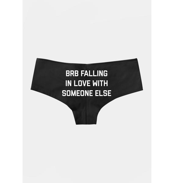 Femfetti Brb Falling In Love Boyshorts