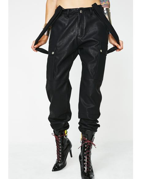 Most Official Babe Suspender Cargo Pants