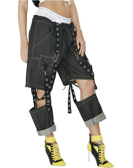 Suspended Jeans